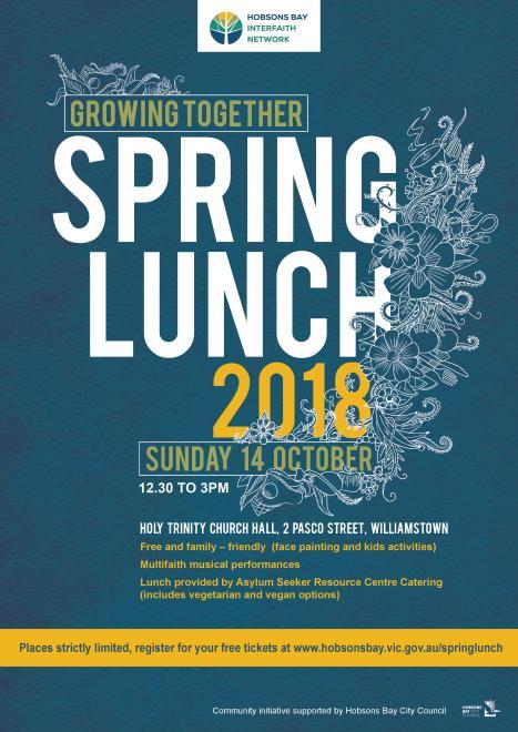 2018 HBIN lunch